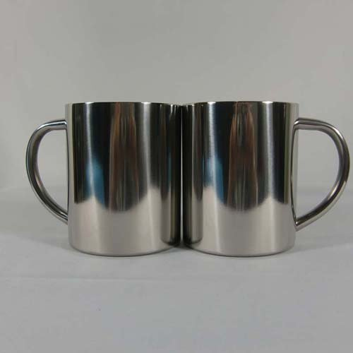 10OZ 300ML Stainless Steel Coffee Mug Camp Cup wit