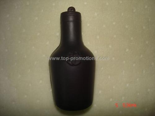 Bottle shape PU stress ball