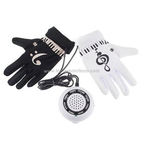 Electronic Piano Hand Gloves Exercise Instrument K