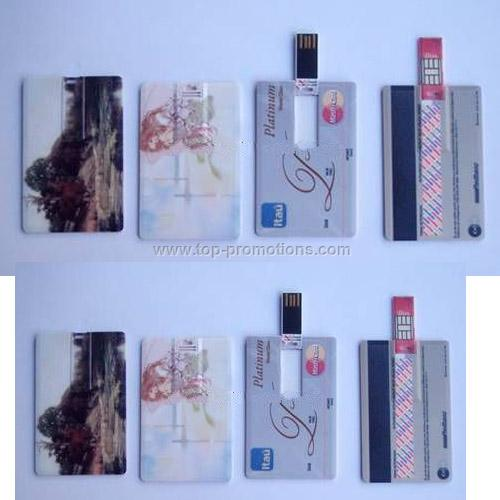 USB Flash Disk Credit card shape USB Flash Disk