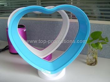 Heart-Shaped No Blade Fan