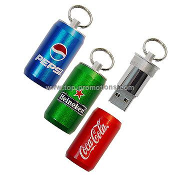 Can Usb Memory Sticks,Promotional items with logo USB Flash drive