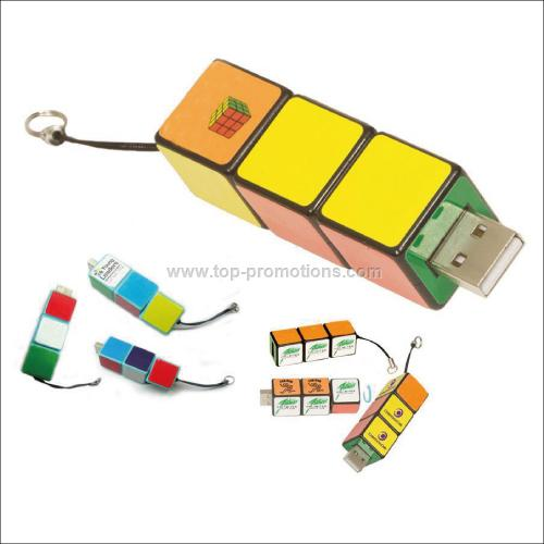 Rubik is s USB Puzzle Drive 2.0