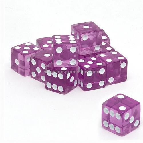 16mm Translucent Dice