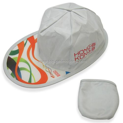 Grey Foldable Baseball Cap