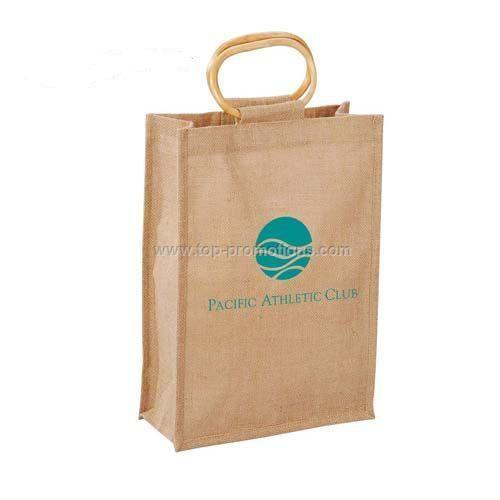 Full Sided Jute Tote