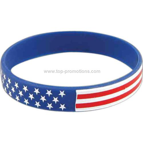 American Silicone Bracelet