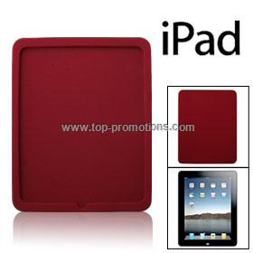 Crimson Protective Silicone Cover Skin for iPad