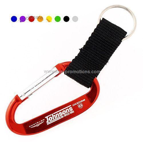 LogoBeenerCarabiner with Strap 70MM