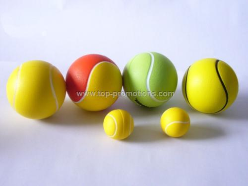 PU tennis stress ball