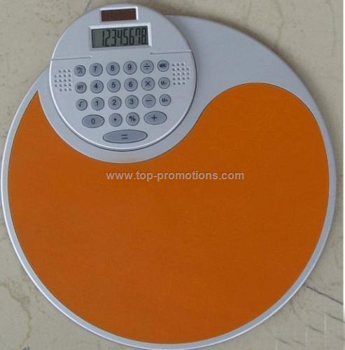 Mouse pad Calculator with