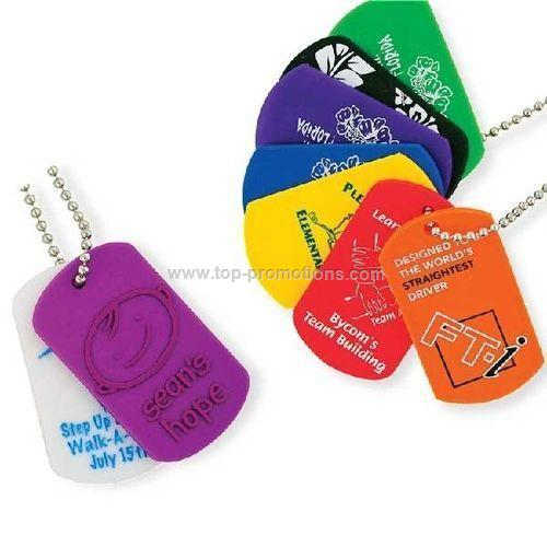 Dog Tags Screen Print