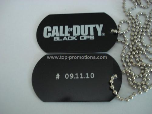 metal dog tag