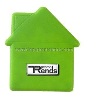 House-Shaped Mint Card