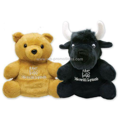 7 Reversible Bull Bear Puppet - Merrill Lynch