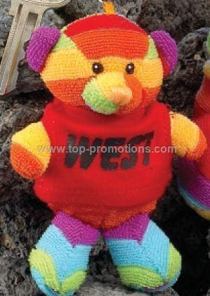 4 Rainbow Bear Finger Puppet