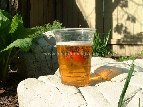 20 oz clear plastic cup