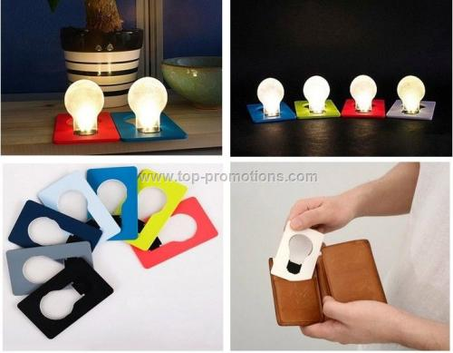 LED Card Pocket light