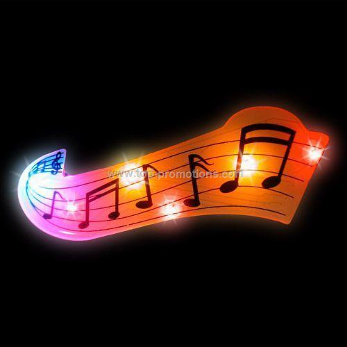 LED Light-Up Magnet - Music Note