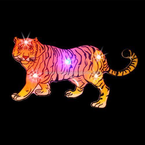 LED Light-Up Magnet - Tiger