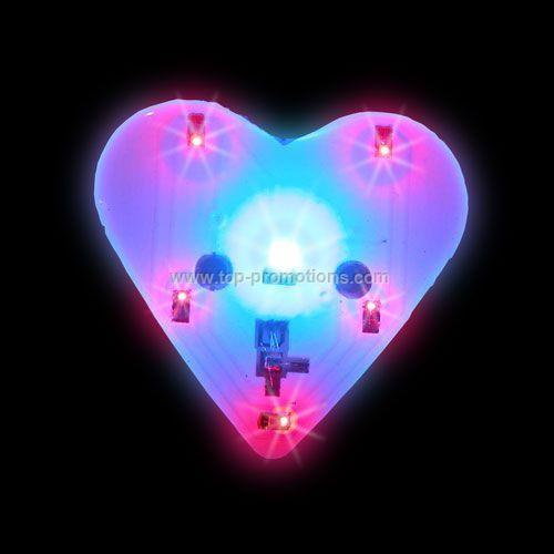 Chaser Light-Up Magnet - Blue/Red Heart