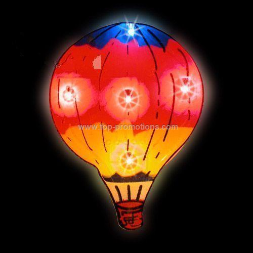 LED Light-Up Magnet - Hot Air Balloon