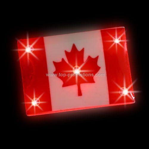 Chaser Light-Up Magnet - Canada Flag