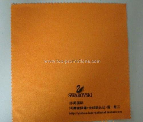 suede style micro fiber lens cleaning cloth