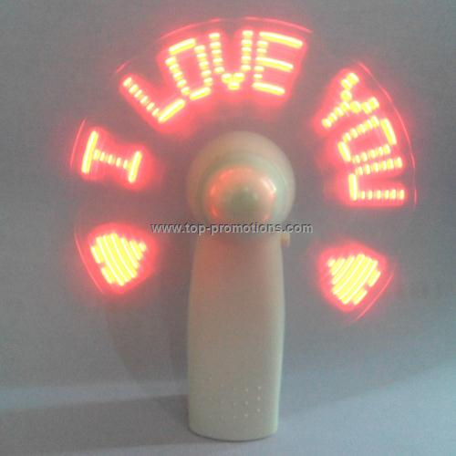 Mini LED Message fan