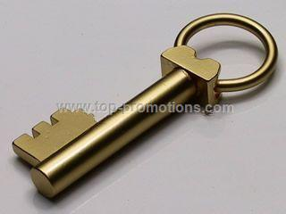 key shaped Metal Keychain