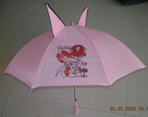 Children umbrellas with ears