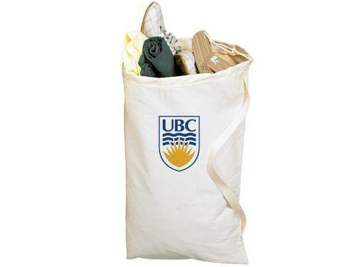 NEW The University Canvas Laundry Bag