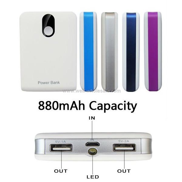 8800mAh Mobile Power For Power Bank