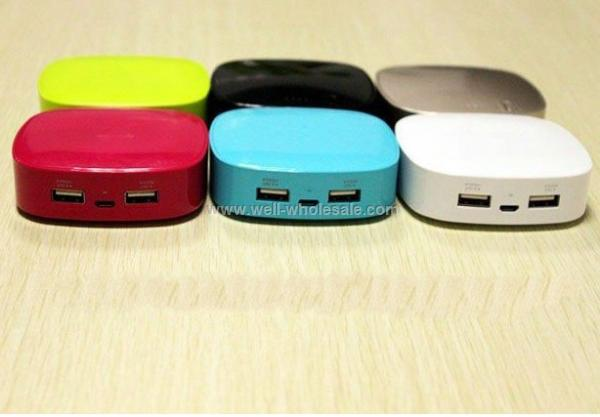 2012 hot sale! 6000mAh mobile power