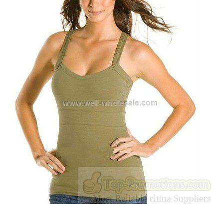 spandex fitted women tank top