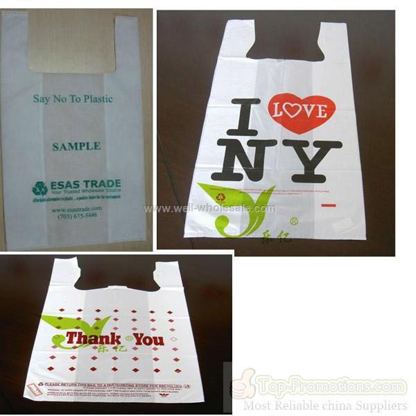 Plastic bags wholesale china plastic bags wholesale for Wholesale t shirt bags