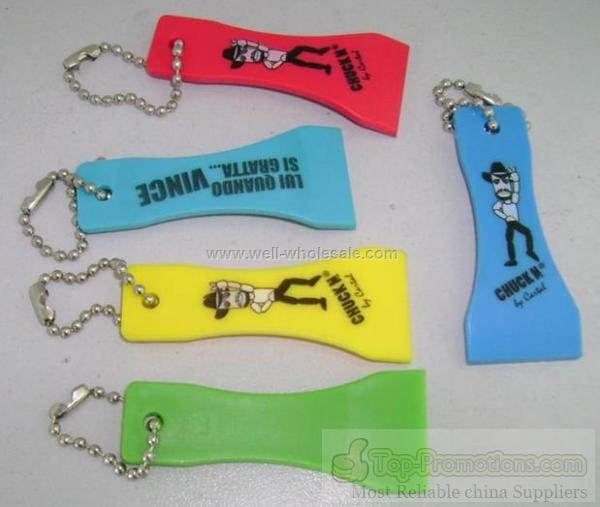Supply Plastic Lottery Scratcher keychain
