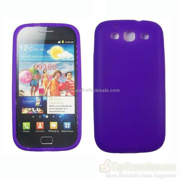 new arrival for Samsung galaxy s3 i9300 silicone cheap case