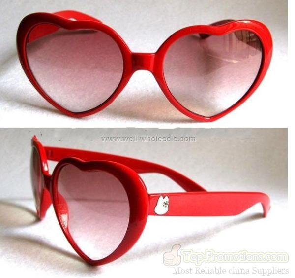 Heart shaped Fashion glasses