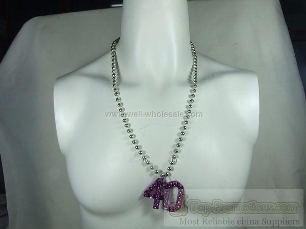 Mardi Gras Beads for 40th-60th birthday