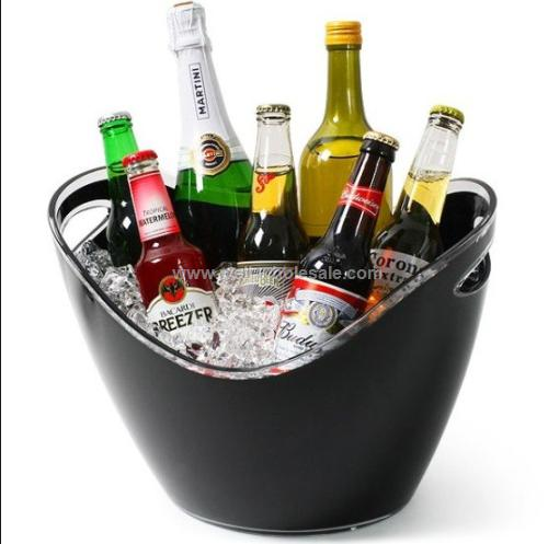 fashion acrylic wine bucket