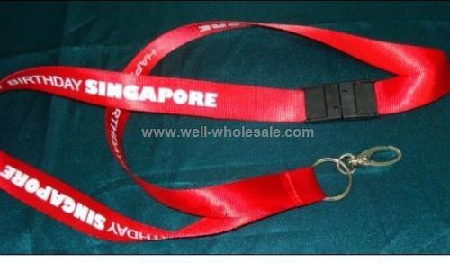 Polyester Lanyard with ID Holder