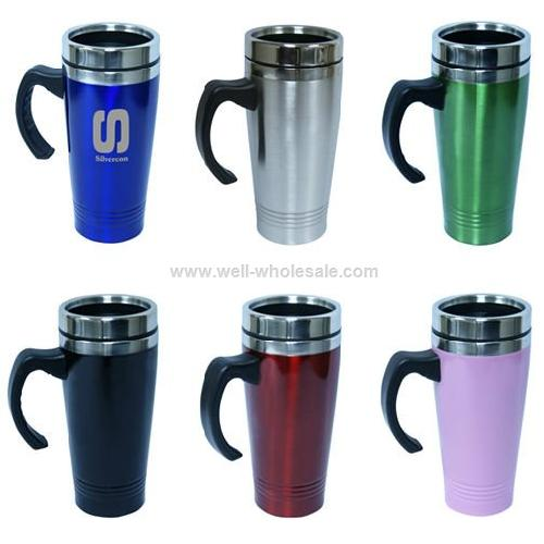 New style stainless steel travel mug