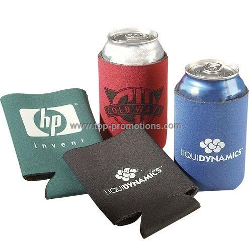 Promotional collapsible can cooler