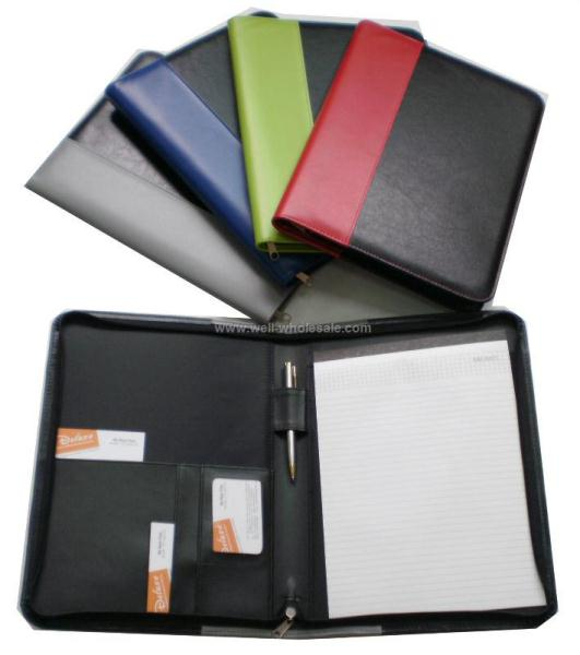 A4 Pu padfolio without calculator
