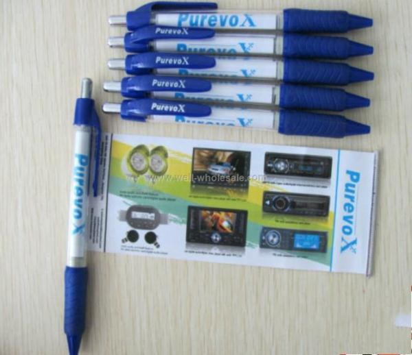 Most Popular Printed Advertising Banner Pen