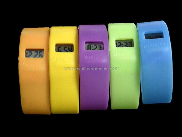 2013 Top Trendy Customized Jelly Watch Party Silicone Strap