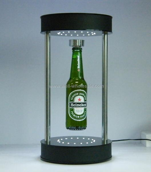 magnetic floating display for whisky