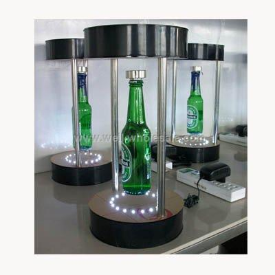 magnetic suspension and magnetism levitation bottle display