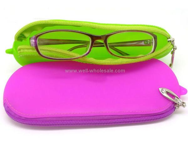 Custom Silicone eyeglass case